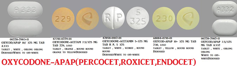 Rx Item-Oxycodone Hcl 4.8355-325 Tab 100 By Libertas Pharma-Narc