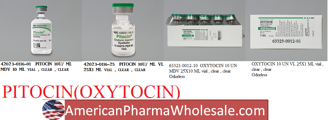 RX ITEM-Pitocin 10 Unit/Ml Vial 10Ml By JHP Pharma
