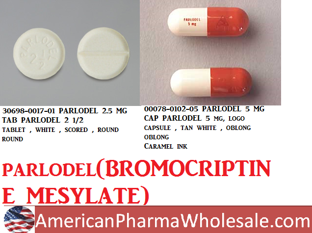 RX ITEM-Parlodel 2.5Mg Tab 100 By Validus Pharma