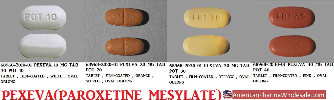 RX ITEM-Pexeva 10Mg Tab 30 By Sebela Pharma-Noven Therapeutics
