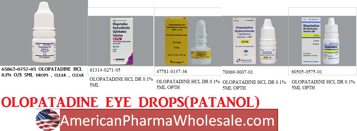 '.Patanol 0.1% Drops 5Ml By Alcon Labs.'