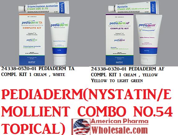 Rx Item-Pediaderm AF 100000 G Cream 1 By Arbor Pharma