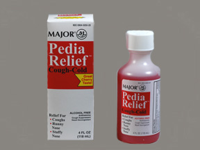 RX ITEM-Pedia-Relief 5-15-1Mg 5 Liq 120Ml By Major Pharm