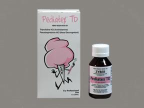 RX ITEM-Pediatex Td Liquid 30Ml