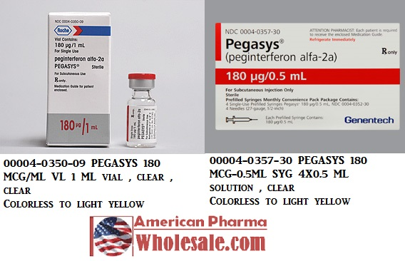 RX ITEM-Pegasys 135 135Mcg 0.5 Inj 4X0.5Ml By Genentech