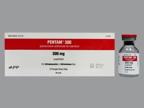 Rx Item-Pentam Lyophz 300mg Vial 10X15ml By Fresenius Kabi USA