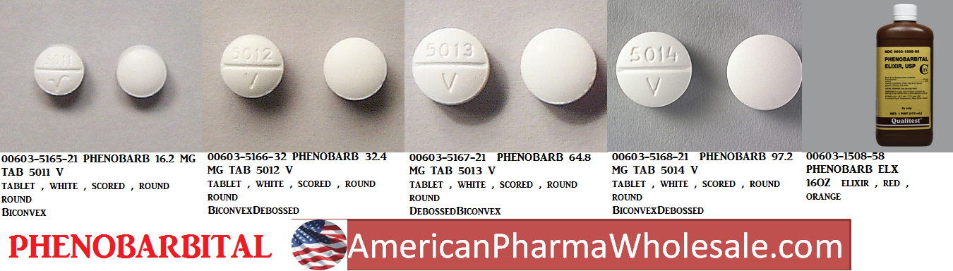 RX ITEM-Phenobarbital 16.2Mg Tab 100 By Mckesson Packaging Services
