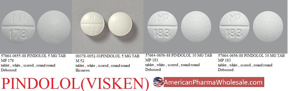 Rx Item-Pindolol 10mg Tab 100 By Ani Pharma