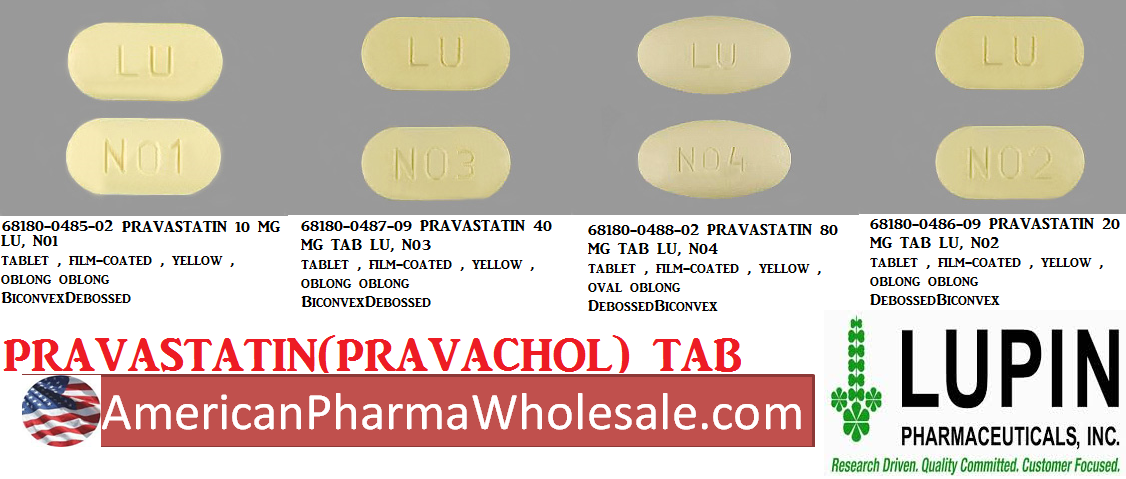 Pravastatin 20mg Tab 500 by Dr Accord Pharma Exp 2/19