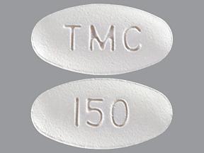 RX ITEM-Prezista 150Mg Tab 240 By J O M Pharma