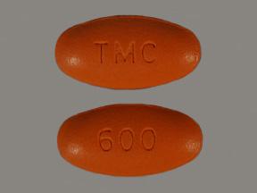 RX ITEM-Prezista 600Mg Tab 60 By J O M Pharma