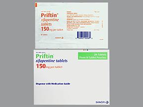 RX ITEM-Priftin 150Mg Tab 24 By Aventis Pharma 3X8 Bp