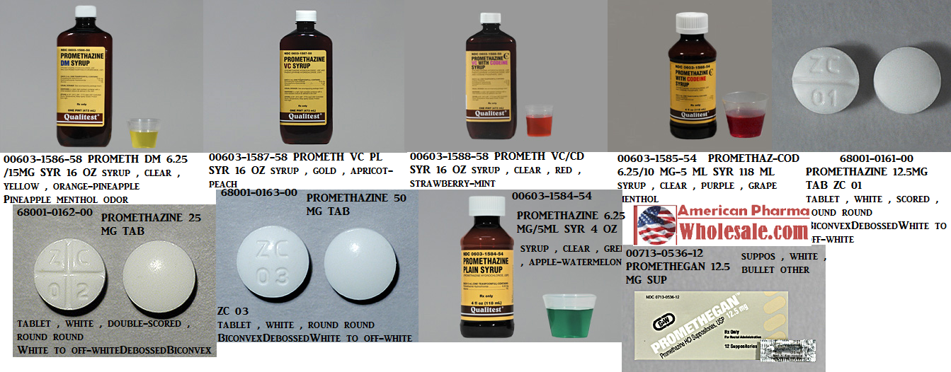 RX ITEM-Promethazine-Codeine 6.25-10-5 Syrup 16 Oz By Morton Grove Pharma
