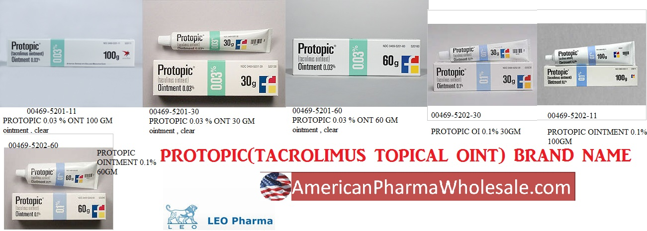 '.Tacrolimus 0.03% Ont 100Gm By Fougera Ph.'