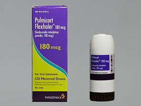 RX ITEM-Pulmicort Flx 180Mcg Aer By Astra Zeneca Pharma