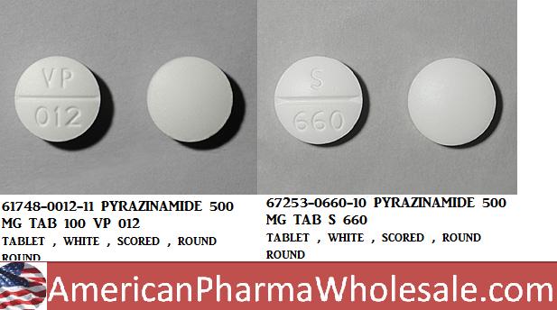 Rx Item-Pyrazinamide 500mg Tab 100 By Akorn Pharma