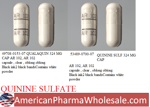 RX ITEM-Qualaquin 324Mg Cap 30 By Ar Scientific