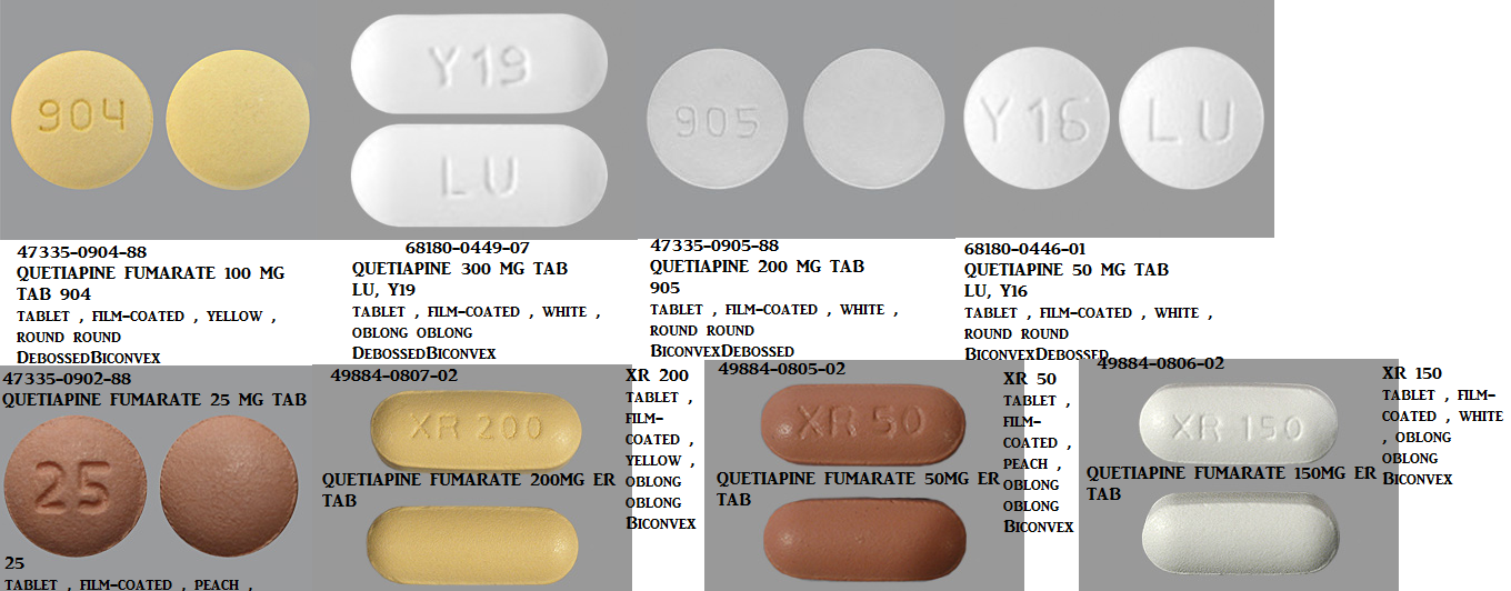 RX ITEM-Quetiapine 50Mg Tab 1000 By Accord Healthcare