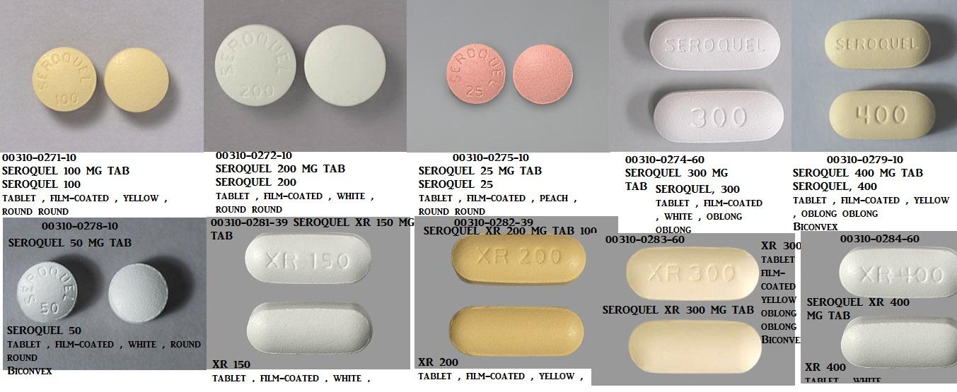 RX ITEM-Seroquel 100Mg Tab 100 By Astra Zeneca Pharma