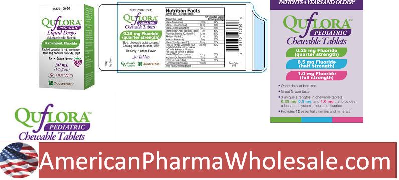 RX ITEM-Quflora 0.25Mg/Ml Drops 50Ml By Carwin Pharma Associat