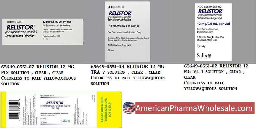 RX ITEM-Relistor 12Mg 0.6Ml Syringe 1 By Valeant Pharma