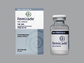 RX ITEM-Remicade 100Mg Vial By J O M Pharma