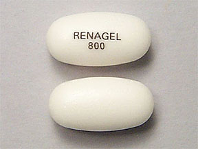RX ITEM-Renagel 800Mg Tab 180 By Aventis Pharm Genzyme