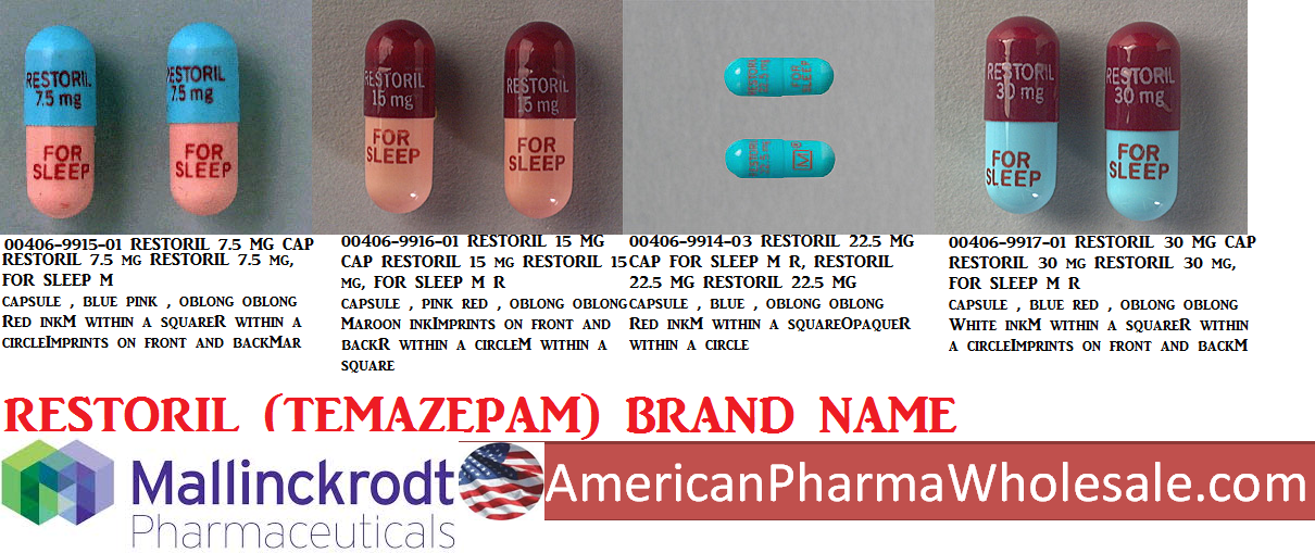 '.Temazepam 15Mg Cap 500 By Actavis Pharma.'