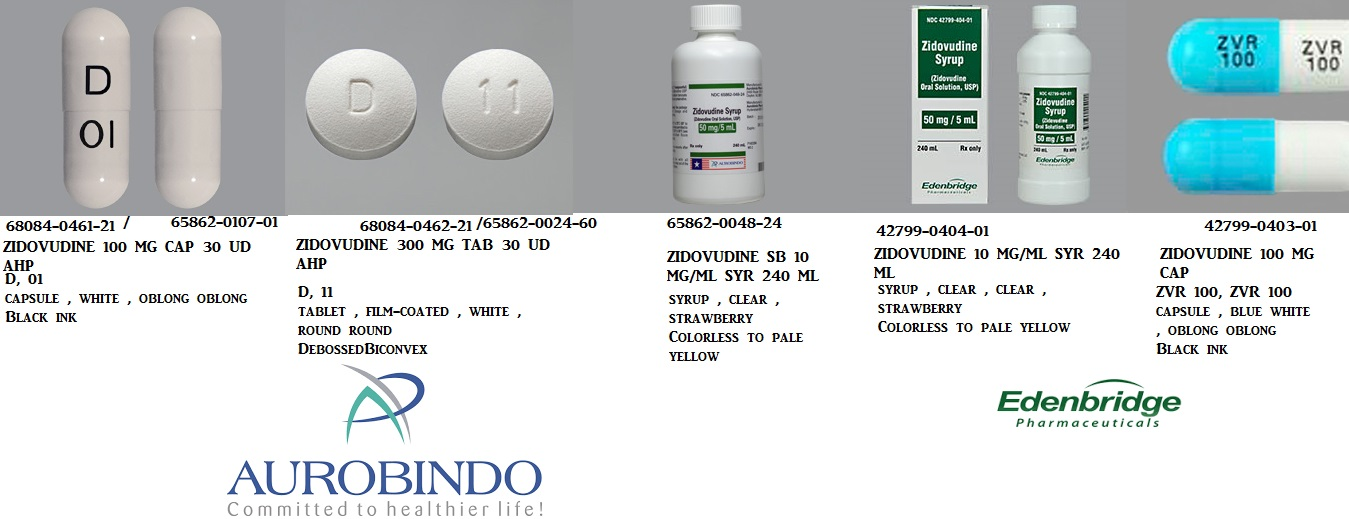 RX ITEM-Zidovudine 100Mg Cap 100 By Aurobindo Pharma