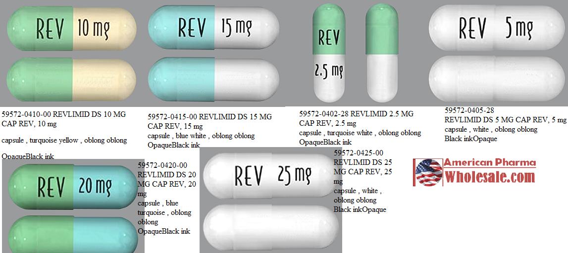 RX ITEM-Revlimid 10Mg Cap 100 By Celgene