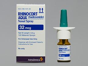 RX ITEM-Rhinocort 120 32Mcg Spray 8.6Gm By Astra Zeneca Pharma