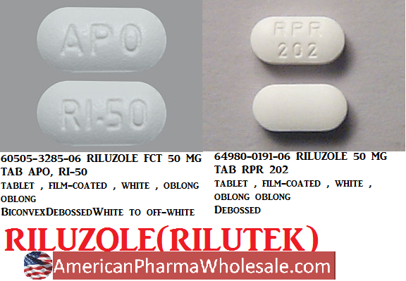 RX ITEM-Riluzole 5X6 By American Health Packaging (Ud)
