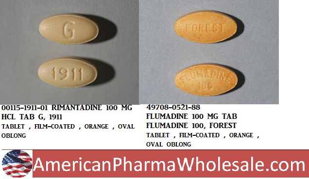 RX ITEM-Flumadine 100Mg Tab 100 By Caraco Pharma