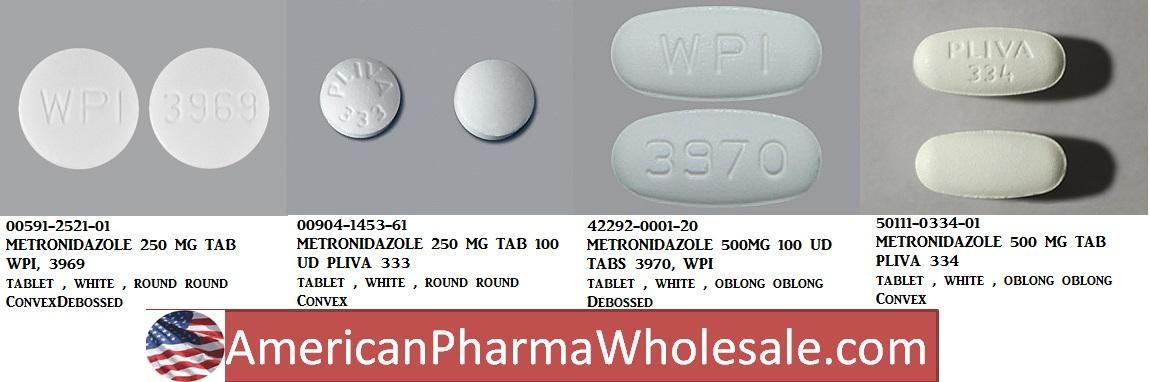 RX ITEM-Metronidazole 250Mg Tab 100 By Actavis Pharma(Teva)