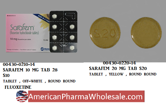 RX ITEM-Sarafem 10Mg Tab 28 By Actavis Pharma