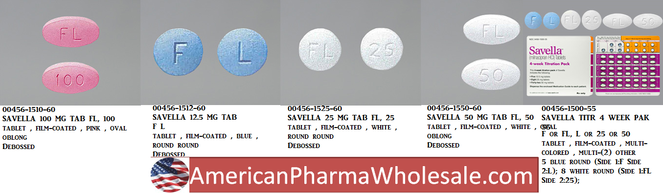 RX ITEM-Savella 100Mg Tab 60 By Actavis Pharma