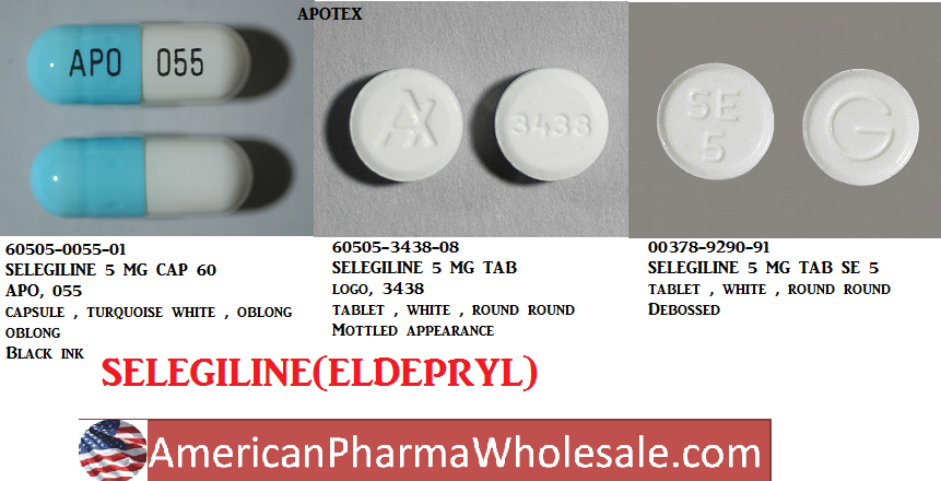 RX ITEM-Selegiline 5Mg Cap 60 By Qualitest Pharma