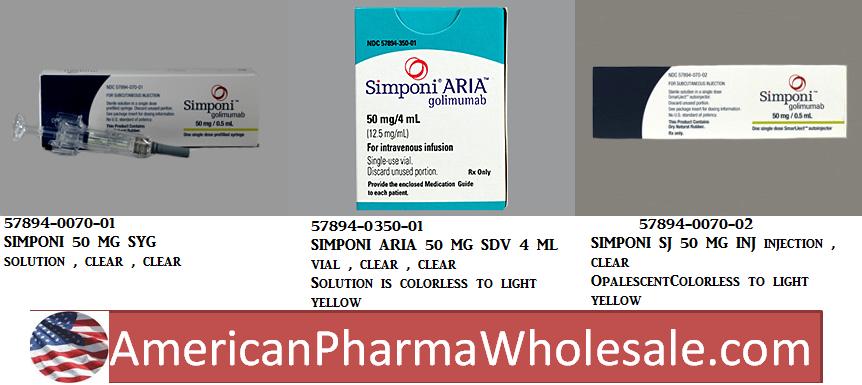 Simponi 100mg/ml Syg 1ml by J O M Pharma