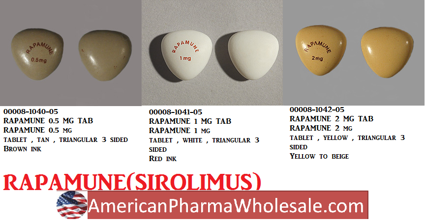 RX ITEM-Rapamune 1Mg Tab 100 By Pfizer Pharma