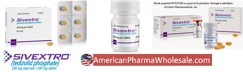 RX ITEM-Sivextro 200Mg Vial 10 By Merck