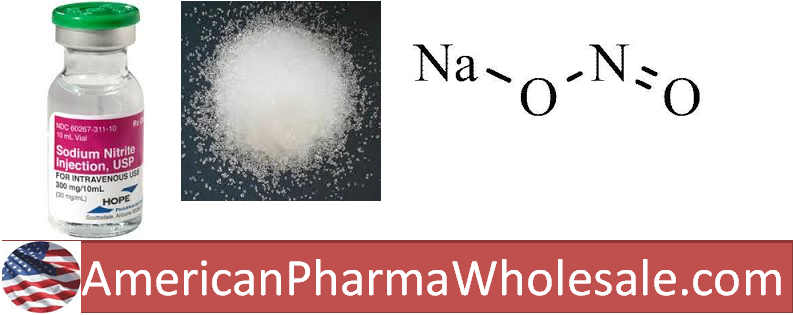 RX ITEM-Sodium Nitrite 30Mg/Ml Vial 10Ml By Hope Pharma