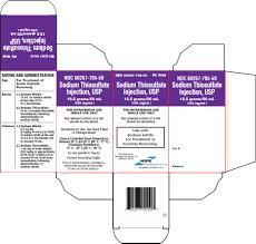 BRAND: SODIUM THIOSULFATE NDC: 60267-0705-50,60267070550 UPC: 3-60267-70550-7,360267705507 Hope Pharmaceuticals