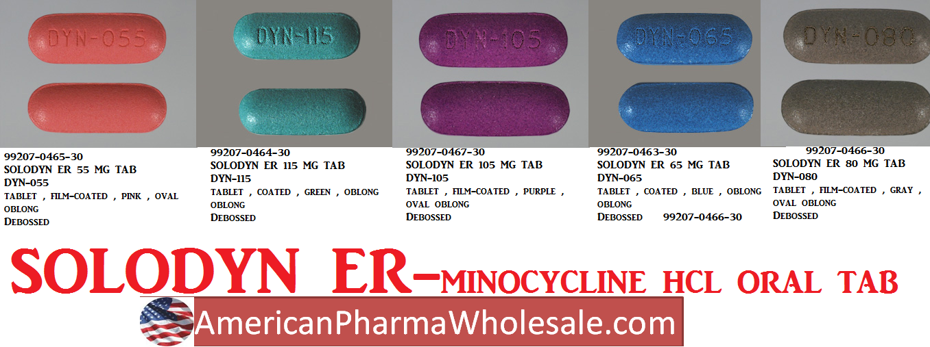 Solodyn ER 105mg Tab 30 by Valeant Pharma