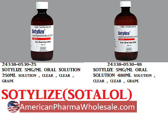 Rx Item-Sotylize 5Mg/ml Solution 250ml By Arbor Pharma