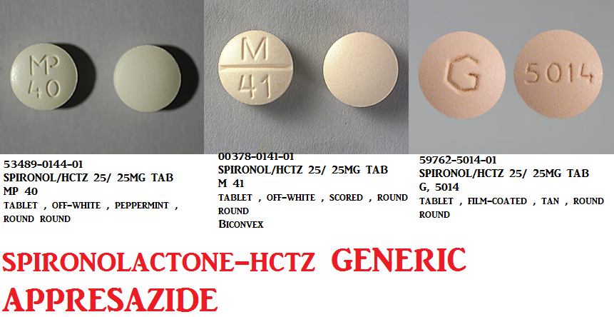 RX ITEM-Spironolactone-HCTZ 25Mg/25Mg Tab 100 By Greenstone Limited