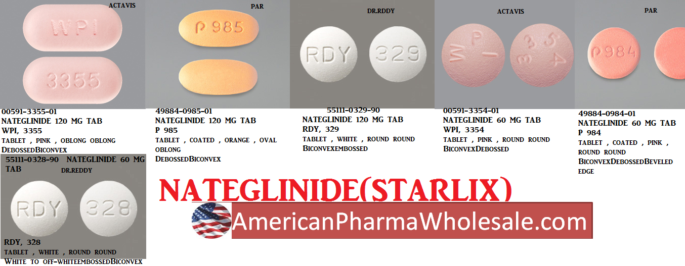 '.Starlix 120Mg Tab 100 By Novartis.'