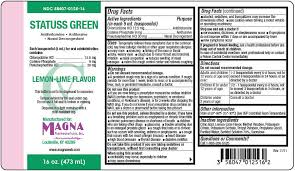 RX ITEM-Statuss Green 12.5-30-9 Liq 16 Oz By Magna Pharma