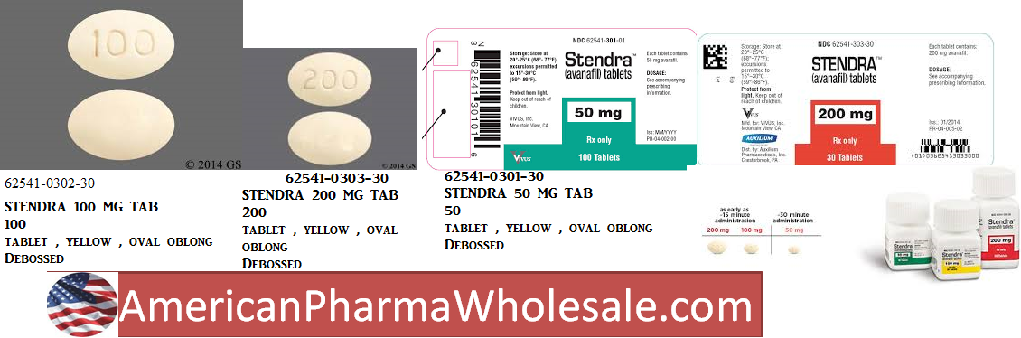 '.RX ITEM-Stendra 50Mg Tab 30 By Mist Phar.'