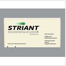 RX ITEM-Striant 30Mg Tape 6X10 By Endo Lab
