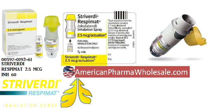 '.Striverdi Res 2.5Mcg Inhaler 60 By Boehr.'